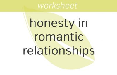 being honest in romantic relationships