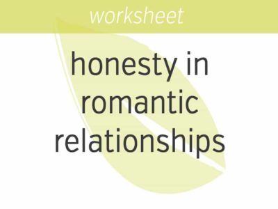 Being Honest in Romantic Relationships