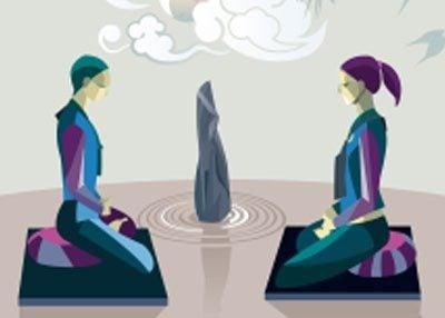 meditation-vector