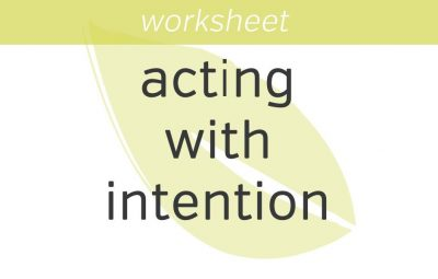Acting with Intention