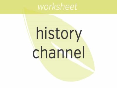 Change Your (History) Channel