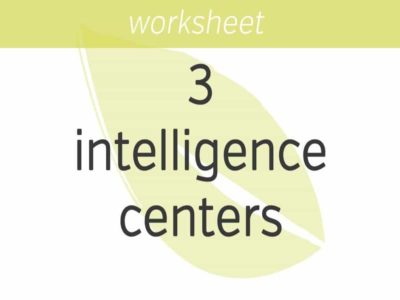 Empowering Your Three Intelligence Centers