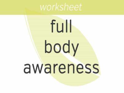 Full Body Awareness