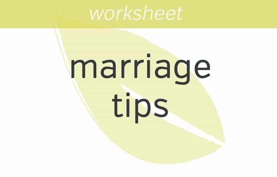 Gottman S Marriage Tips Mindfulness Exercises