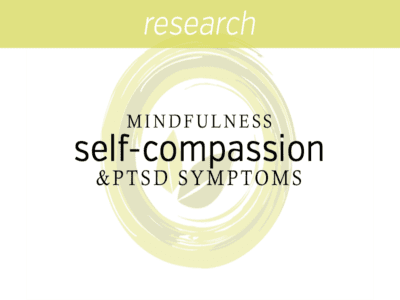 Mindfulness Self-Compassion PTSD Symptoms