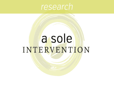 Mindfulness based stress reduction as a sole intervention