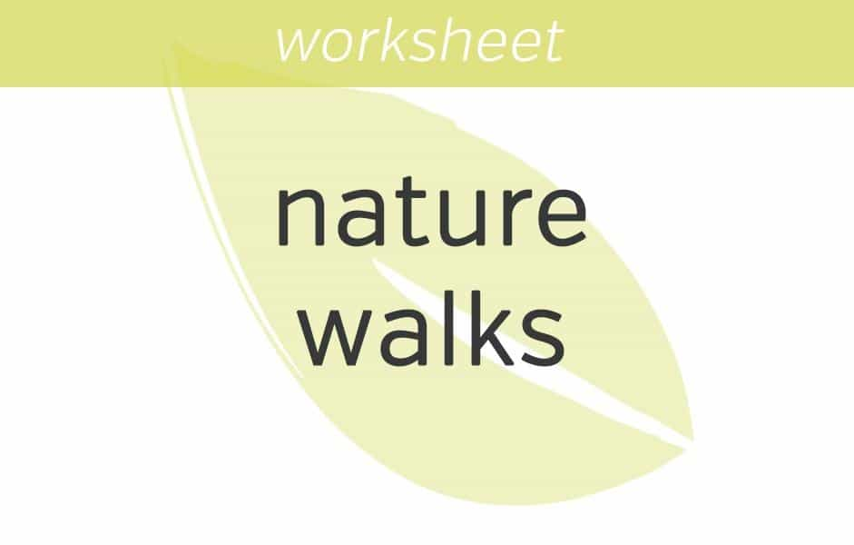 9 Mindfulness Exercises for Anxiety Nature Walk