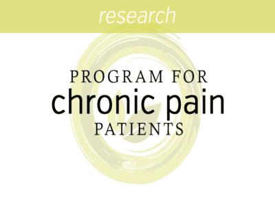 Outpatient Program for Chronic Pain Patients