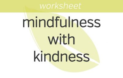 A Story: Practicing Mindfulness with Kindfulness