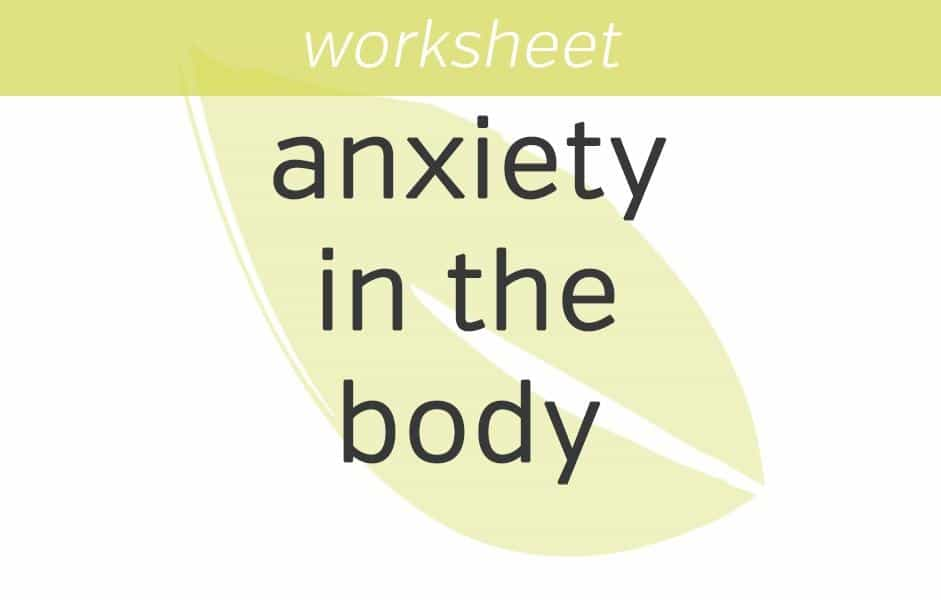 9 Mindfulness Exercises for Anxiety Sensing and Rating Anxiety in the Body