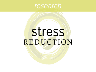 Stress reduction for chronic pain conditions