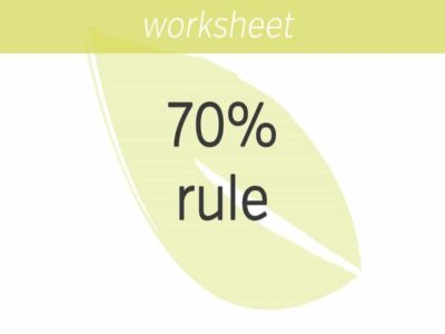The 70% Rule: Why 7 Is The New 10