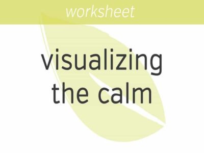 Visualizing the Calm