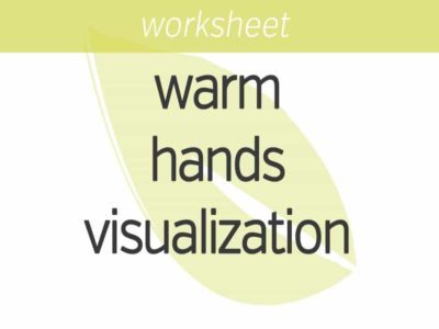 Warm Hands Visualization