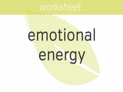 adding and subtracting emotional energy within others