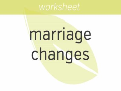 bringing mindfulness to marriage changes