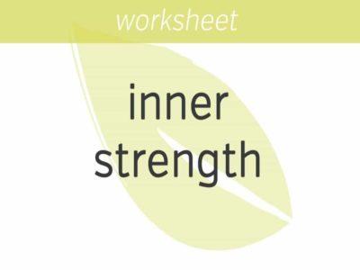 building inner strength