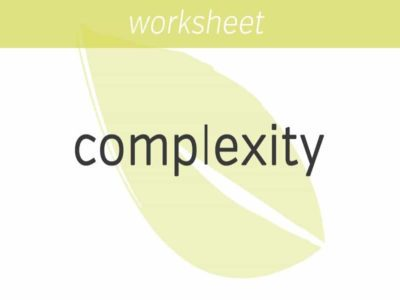 creating complexity