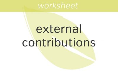 gauging external contributions