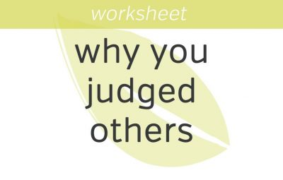 know why you judged others