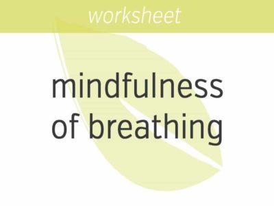 mindfulness of breathing