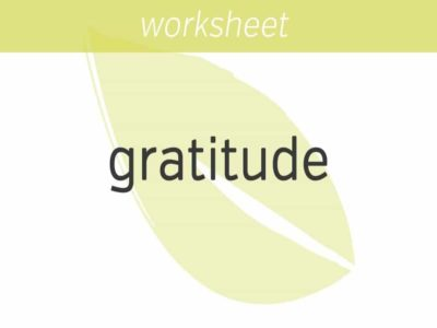 opening your heart and mind to gratitude