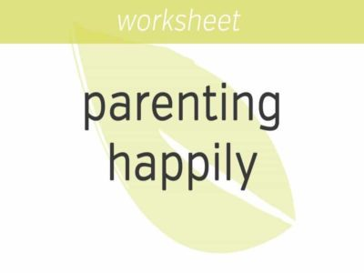 parenting happily