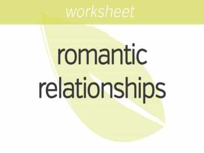 relating to romantic relationships