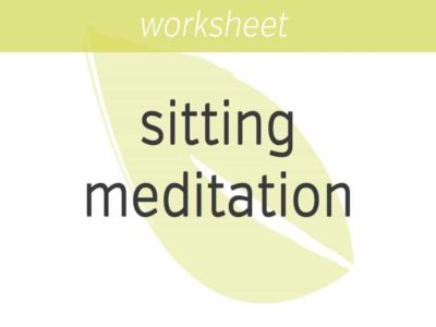 several styles of sitting meditation