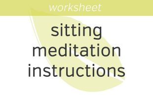 Sitting And Walking Instructions [Audio]