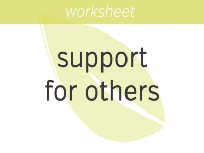 stepping up your support of others