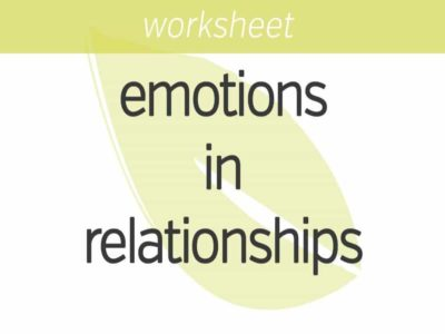 the impact of your emotions in relationships