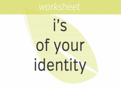 the i's of your identity