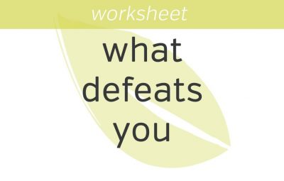 MINDFULNESS WORKSHEETS