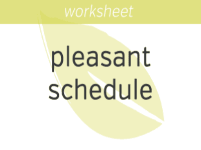 Scheduling Something Pleasant