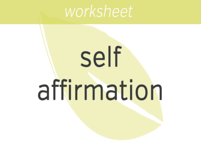 Self-Affirmation to Reduce Self-Control Failure