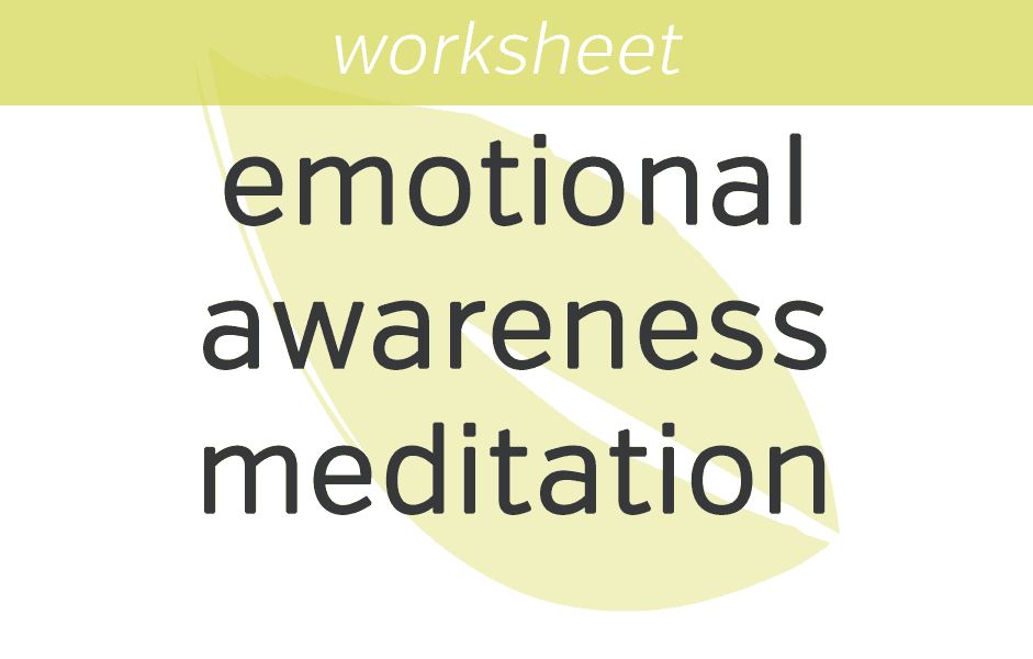 9 Mindfulness Exercises for Anxiety Emotional Awareness Meditation