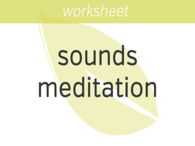 Mindfulness of Sounds Meditation FI