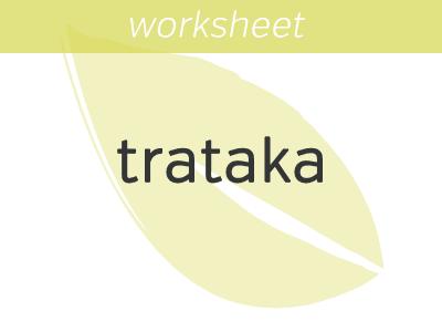Eye Gazing Worksheet