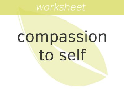 Self-Compassion Pause