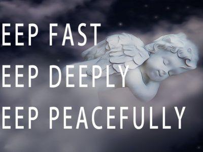 Guided meditation for a deep peaceful and calm sleep
