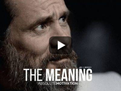 The Meaning By Jim Carrey