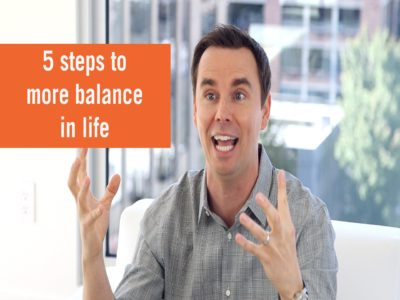 Achieving More Balance in Your Life