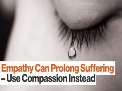 Empathy can prolong suffering