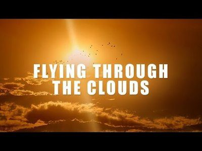 Flying Through the Clouds a Spoken Meditation [Video]
