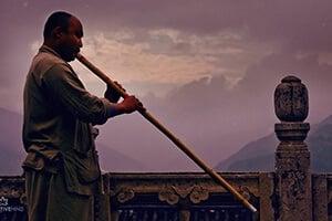 Tibetan Flute Music + OM Chanting 432Hz