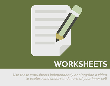 mindfulness worksheets and handouts