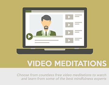 free meditation videos and mindfulness meditations