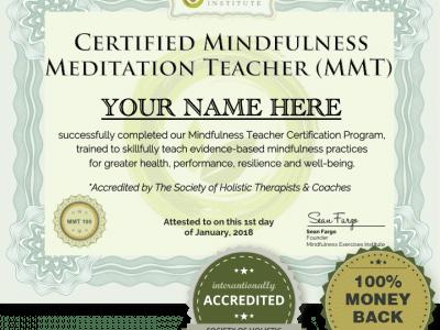 mindfulness teacher training   Mindfulness Exercises