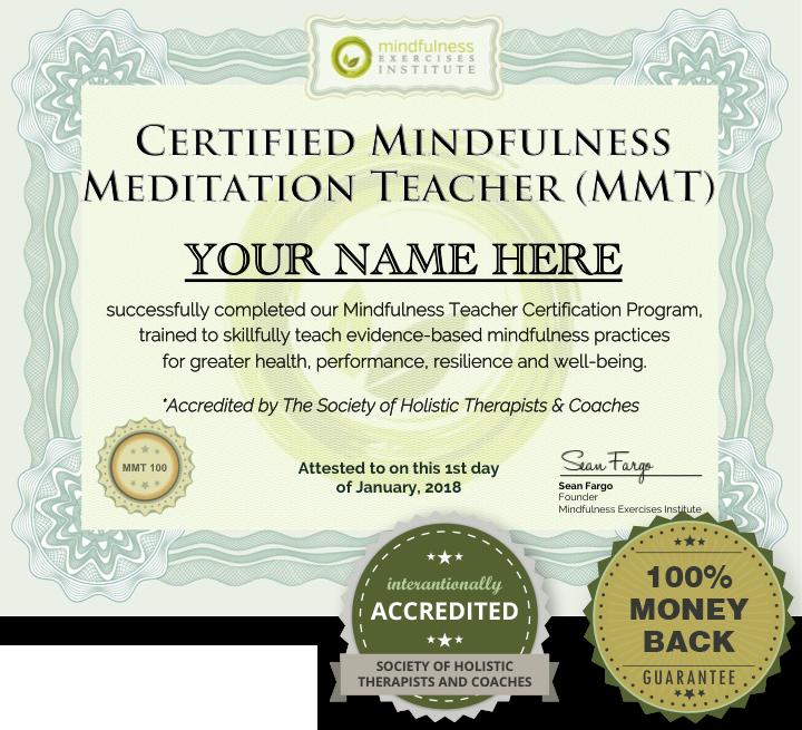 mindfulness teaching certification program